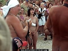 Beach hunter sex scene
