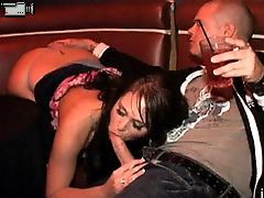 This steamy hot party gets crazy when Renna starts blowin josh in the vip right infront of everyone in these hot movies